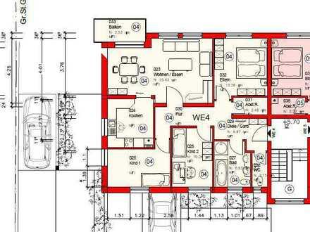 *ERSTBEZUG - Exklusive 4- Zimmer Etagenwohnung mit Balkon in ruhiger Lage!*