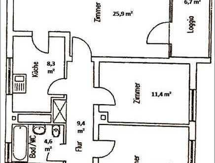 Stilvolle 3-Zimmer-Wohnung in Eschborn