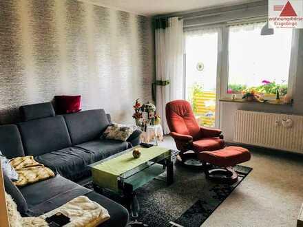 3-Raum-Wohnung mit Blick ins Grüne!