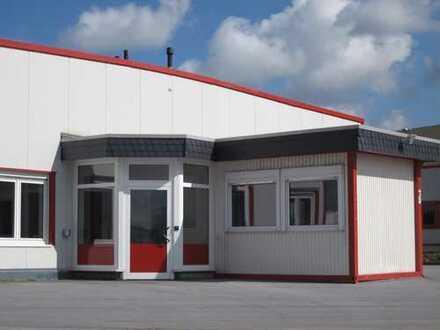Halle 1.000 m² mit Büro 140 m² mit Außenbereich bis 3.000 m²
