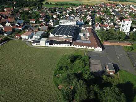 Produktionsareal an der A7 Würzburg / Fulda zu verkaufen