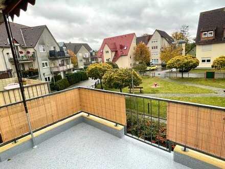 tolle 2-Raum-Wohnung mit Balkon und Einbauküche im grünen Bergfelde nahe Berlin
