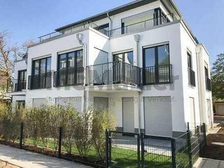 Erstbezug: Luxuriöse 2,5-Zi.-Erdgeschosswohnung mit eigenem Garten und Terrasse in Obermenzing!