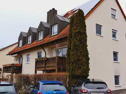 4-Zi.-Maisonette-Wohnung mit DG-Studio in Ludwigschorgast
