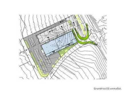 Bis zu 2.300 m² ebenerdig bzw. mit Rampen