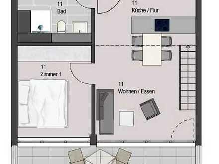 Etwas Besonderes - 2-Zimmer-Wohnung mit Galerie