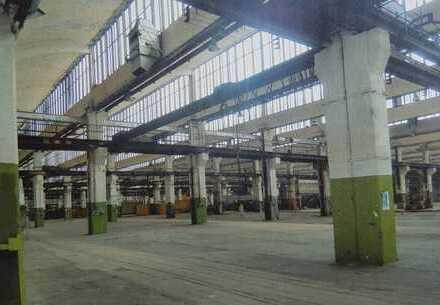 Produktionshalle m. Büroteil und Kellergeschoss zur Verpachtung