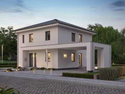 Elegante Stadtvilla - modernes Design, trifft Energiesparwunder !