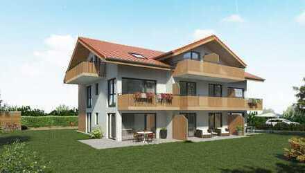 Bau-Start-ERFOLGT!!! exk.2-Zimmer-Neubau-Balkon-Wohnung ca. 46,57 m², LIFT, TG-Platz, WHG-NR.5