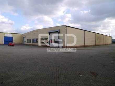 Produktions-/Lagerflächen - ebenerdige Tore - Höhe 5 m