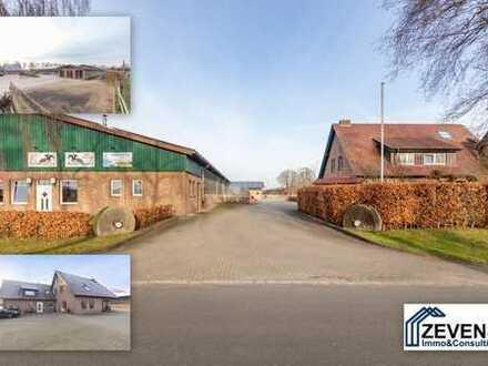 Wohnen mit Pferd (mit Video): Top-gepflegter Pferdehof, 39 Boxen, 2 Einfamilienhäuser