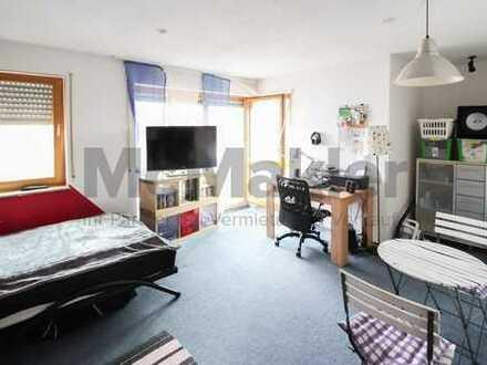 Helles 1-Zimmer-Apartment mit Balkon und PKW-Stellplatz!