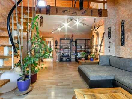 Gemütliche Dachgeschosswohnung - Mehr Platz als erwartet!