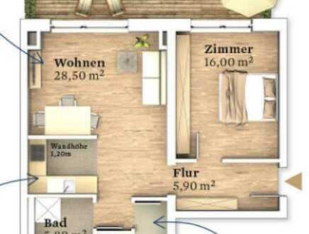 exklusive Terrassenwohnung in den STADTTERRASSEN III