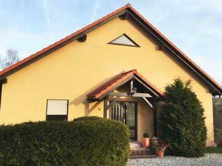 Einfamilienhaus in Frankenberg/Sachsen, Energiesparhaus, großer Garten, schöner Ausblick