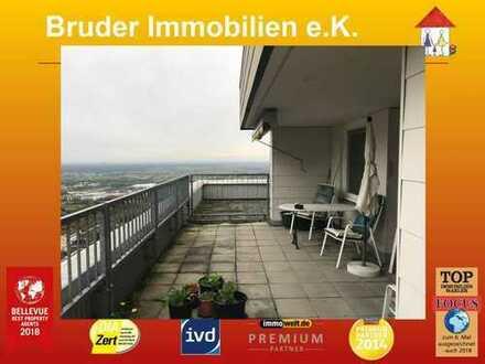 HD-Emmertsgrd: die HÖCHSTE Wohnung Heidelbergs für Schwindelfreie: Penthouse 15. Stock, keine K-Prov