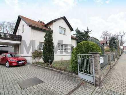 Zweifamilienhaus mit einer vermieteten WE und Garten zentral in Radebeul