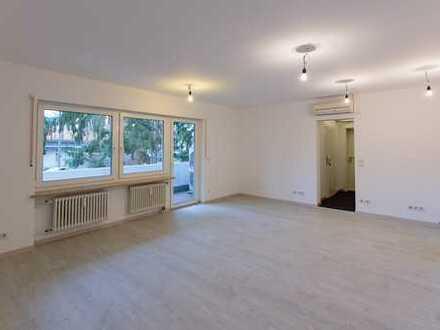 Erstbezug nach Sanierung mit Balkon: helle 4-Zimmer-Erdgeschosswohnung in Erlangen