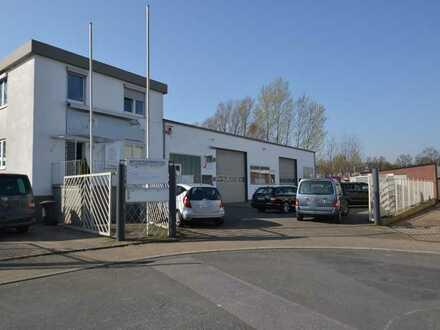 Attraktive Lager- und Gewerbehalle mit Bürofläche