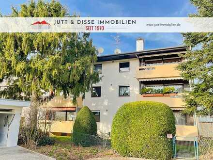 Modernisierte 3 Zimmerwohnung mit Balkon und Garage in Kuppenheim