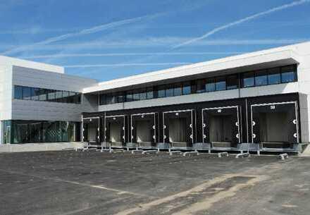 PROVISIONSFREI: ca. 8.500 qm Neubau Logistik | 10x Rampen + 2x ebenerdig | ca. 10,50 m UKB !