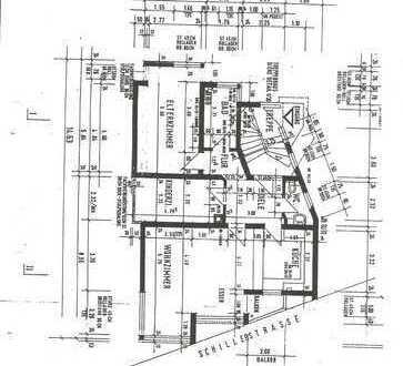 Gepflegte 3-Zimmer-Wohnung EG, zentrale Lage in Reichenbach
