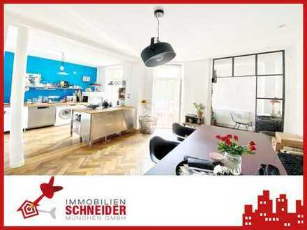 IMMOBILIEN SCHNEIDER - Altbau - Bezugsfreie wunderschöne 3 Zimmer Wohnung mit Balkon