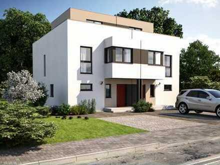 Großzügige Doppelhaushälfte KFW 40 + gehobene Ausstattung mit Keller Fix und Fertig