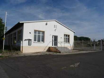 Gewerbeobjekt mit Grundstück 23900m² Bürogebäude 4 Hallen Wanzleben Domersleben