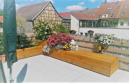 Helle 3-Raum-Wohnung mit Terrasse, ruhig gelegen, direkt am Stadtpark von Sömmerda!!!