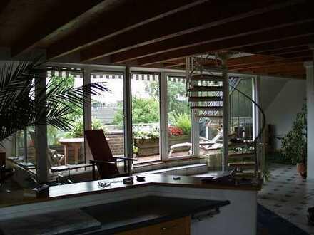Gepflegte 3-Zimmer-Loft-Wohnung mit Terrasse in Krefeld-Fischeln