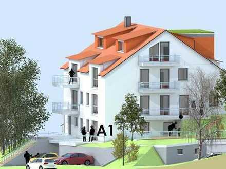 2 Terrassen mit ca. 20 und 9 qm - komfortable 2,5-Zimmer-ETW mit 92 qm - ruhige Bestlage - KfW 55