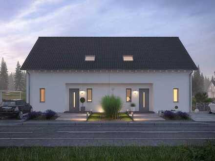 Flexibles Doppelhaus mit Stil u. Funktionalität. Für Macher u. Projektmanager! Infos: 0171 7744817