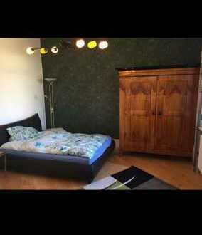 Zimmer mit schönem Ausblick.Mainz ist da