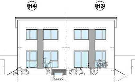 Modernes Wohnen auf dem Land! Projektierte DHH in Greffern.