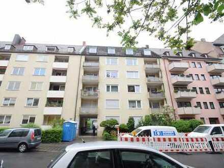 Ruhige gut aufgeteilte 3-Zimmer-Wohnung in Nbg./St. Johannis inkl. Balkon