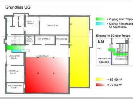 Lagerraum(räume) 150 qm2 teilbar, ab 5,00 Euro pro m2