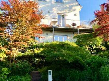 Stuttgart-Killesberg, charmante Stadtvilla mit Traumgarten und Aussicht