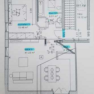 Erstbezug: charmante 2-Zimmer-Dachgeschoss-Wohnungen mit Balkon in Karlshuld