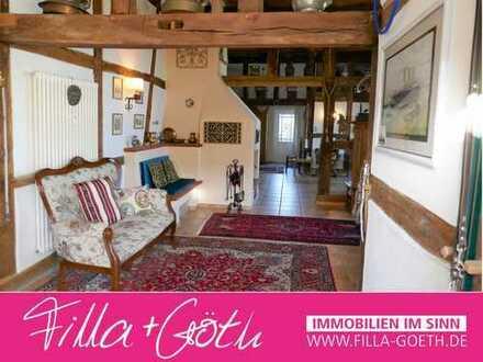 Besondere Eigentumswohnung im Holzfachwerk in wunderschöner, ruhiger Lage in Versmold!