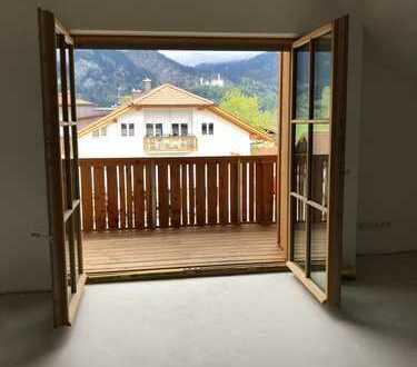 NEUBAU Eigentumswohnung in Schwangau im Allgäu, Provisonsfrei - Erstbezug