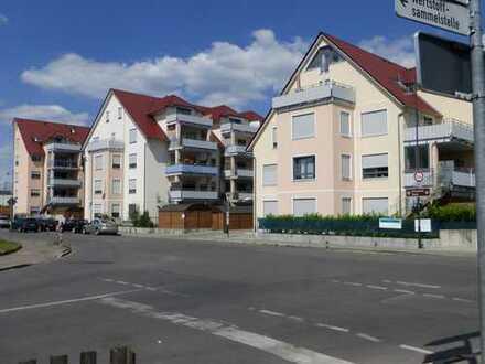 Schöne 4-ZKB-Wohnung im DG mit großzügigem Balkon in Mering