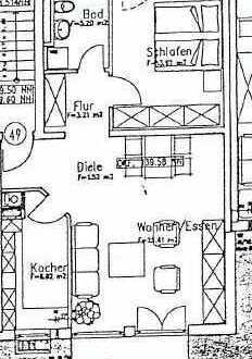 Ansprechende, gepflegte 2-Zimmer-EG-Wohnung zum Kauf in Kehl