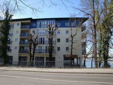 SCHÖNE 3-Zimmer Wohnung mit unverbaubaren Blick zum Flakenfließ u. Dämeritzsee Ortskern