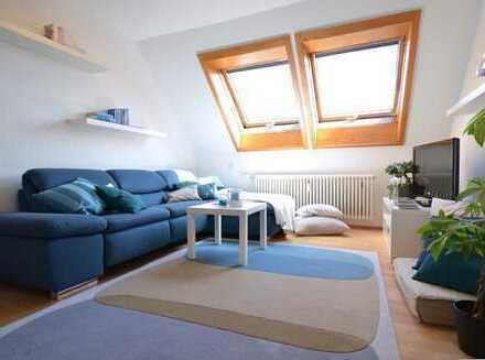 Helle 3,5 Zi. PREMIUM MAISONETTE-Wohnung in S-Weilimdorf: EBK, Balkon und viele Extras