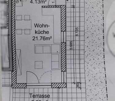 Neubau 2018 - schicke 2-Zimmer-Maisonette-Wohnung mit Terrasse in Porz-Urbach, Köln