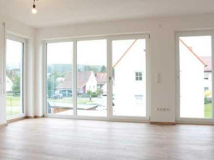 2-Zi. Neubauwohnung mit Balkon in Stetten zu vermieten