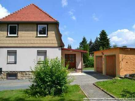 Einfamilienhaus mit Garage und großem Grundstück in 01744 Dippoldiswalde