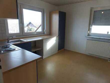 Schöne, geräumige 2 ZKB-Wohnung mit Einbauküche und PKW-Stellplatz!