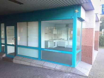 Attraktive Ladenfläche direkt an der B1 zu vermieten!! Geeignet für Kiosk, Ausstellungsfläche etc.